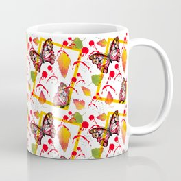 Butterfly Free Fall Coffee Mug
