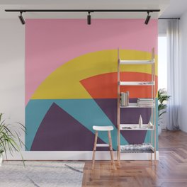 Pink Cocktail Wall Mural