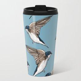 Birds Hipster Travel Mug