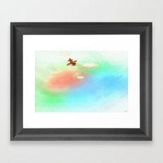 Whimsy Avionics Framed Art Print