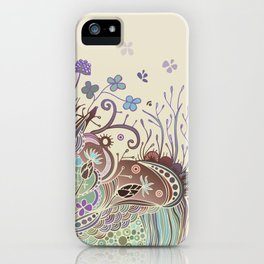Thistle_tangle iPhone Case
