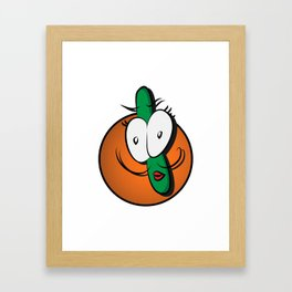 Cat repellent!  Framed Art Print