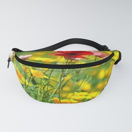 WILD POPPIES Fanny Pack