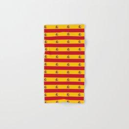 Flag of spain 2-spain,flag,flag of spain,espana, spanish,plus ultra,espanol,Castellano,Madrid,prado Hand & Bath Towel