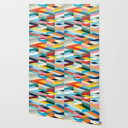 Modern Geometric Pattern Wallpaper