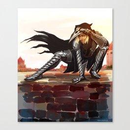 Antivan Crow Canvas Print