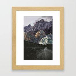 Night, A Landscape Framed Art Print