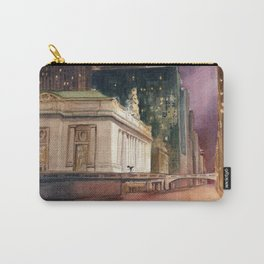 Grand Central Station and the Chrysler Building II Carry-All Pouch