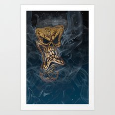 The Stuff Nightmares Are Made Of Art Print