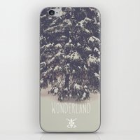wonderland iPhone & iPod Skins featuring Wonderland by Christine VanFonda