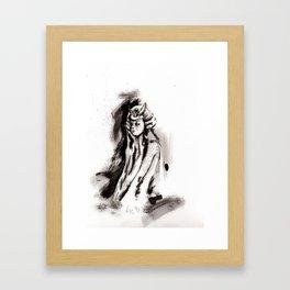 El arte de la guerra (sketch version) Framed Art Print