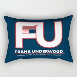 Full FU Logo Rectangular Pillow