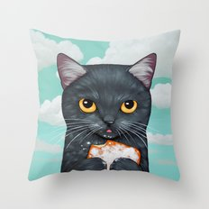BEIGNET ALL DAY Throw Pillow