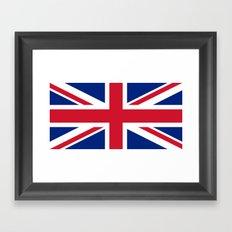 Flag of the United Kingdom Framed Art Print