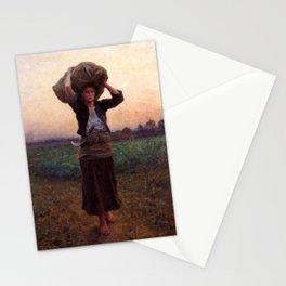 jules Breton - Sheperd's Star Stationery Cards
