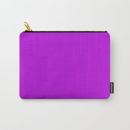 Flurorescent Violet | Neon Violet Carry-All Pouch