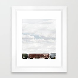 Train 2 Framed Art Print