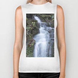 Smoky Mountain Waterfall Biker Tank