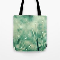disco Tote Bags featuring disco by Bonnie Jakobsen-Martin
