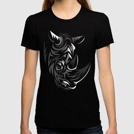Tribal Rhino T-shirt