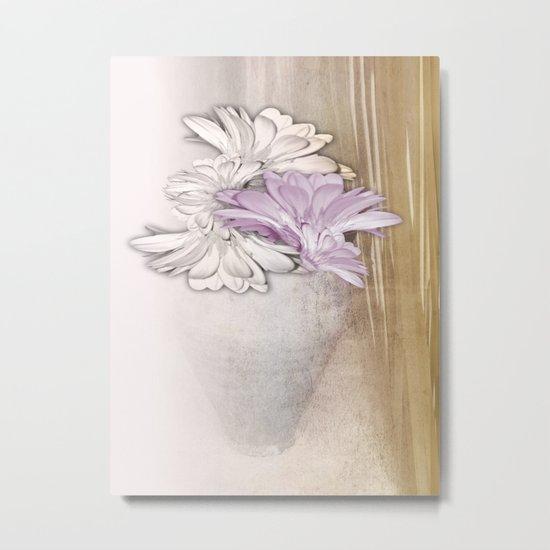 Floral Still Life Metal Print