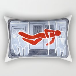 Pole Dancer Rectangular Pillow