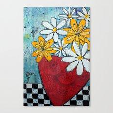 Build me up buttercup Canvas Print