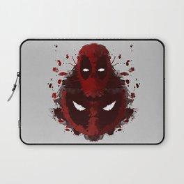 Dead Ink Blot Laptop Sleeve