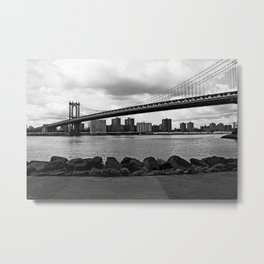 new york city ... manhattan bridge I Metal Print