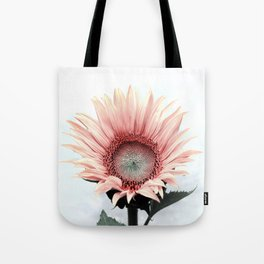 Pink Sunflower Tote Bag