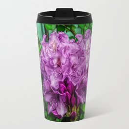 Fine Wine Cafe Light Purple Rhododendron Travel Mug
