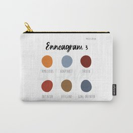 Enneagram 3 Carry-All Pouch