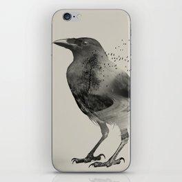 Raven Sky iPhone Skin