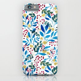 Fall Flavors iPhone Case