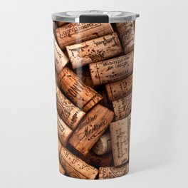 Corks,wine corks Travel Mug
