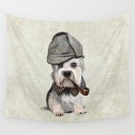 Sir Dandie Dinmont Terrier Wall Tapestry