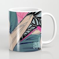 cook Mugs featuring Hollie Cook by Mamakhol