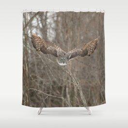 Wisdom on wings Shower Curtain