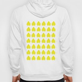 Golden Yellow Asian Moods Buddha Boys Hoody
