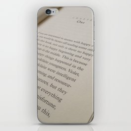 chapter one iPhone Skin