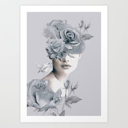 Spring (portrait) Art Print