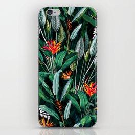 Midnight Garden V iPhone Skin