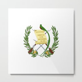 cost of arms of Guatemala Metal Print