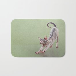 Sphynx kitten Bath Mat