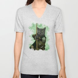 Ranger Cat Unisex V-Neck