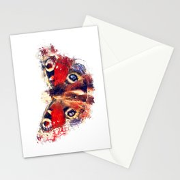 Butterfly - European Peacock Stationery Cards