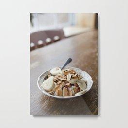 Breakfast Bowl Metal Print