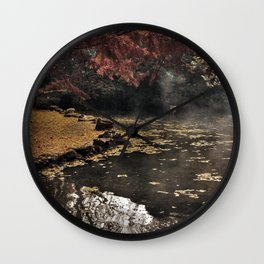 Lights and colors Wall Clock