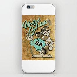 UA Cat Poster iPhone Skin