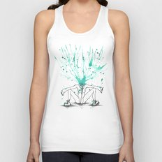 All Riled Up & Silent Unisex Tank Top